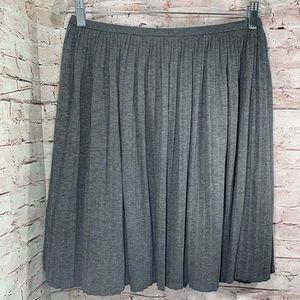 Halogen 0P petite accordion skirt elastic waist